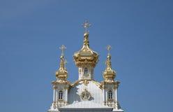 Petrodvorets Kirche Stockbild