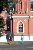 Petroff pałac Basztowy wieczór Zdjęcia Stock