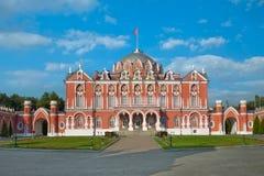 Petroff slott moscow Ryssland Royaltyfria Bilder