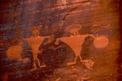 petroglif Fotografia Royalty Free