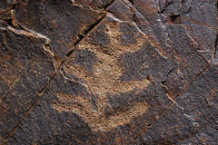 Petroglif 3 Imágenes de archivo libres de regalías
