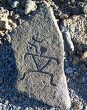 petroglif Zdjęcie Royalty Free