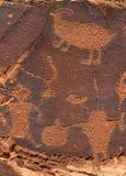 Petroglifi Fotografie Stock Libere da Diritti