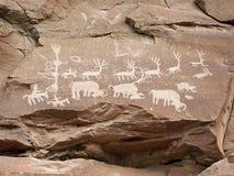 Petroglifi Immagini Stock