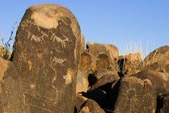 Petroglifi Immagine Stock Libera da Diritti