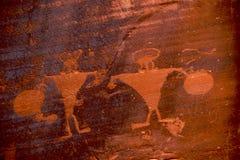 Petroglifo Fotografía de archivo libre de regalías