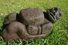Petroglifo del giardino fotografie stock libere da diritti