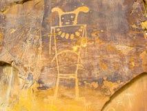 Petroglifo solo Fotos de archivo libres de regalías