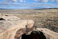 Petroglifos en parque nacional del bosque aterrorizado Fotos de archivo libres de regalías