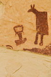 petroglify Zdjęcie Royalty Free