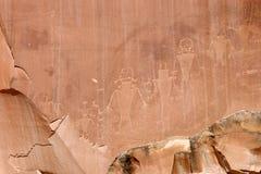 Petroglify Zdjęcia Stock