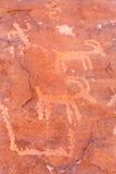 Petroglify Obraz Stock