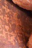 Petroglify Fotografia Stock