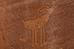 Petroglify Fotografia Royalty Free