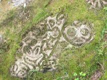 Petroglyhps Royalty Free Stock Photos