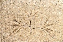 Petroglyph βράχου Στοκ εικόνες με δικαίωμα ελεύθερης χρήσης
