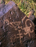 Petroglyph#1 Royalty Free Stock Photography