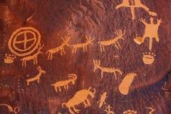petroglyph fotos de stock