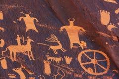 petroglyph fotografia de stock