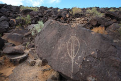 Petroglyph 2 Royalty Free Stock Photography