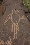 Petroglyph 2 Royalty Free Stock Images