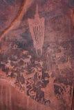 petroglyph Lizenzfreies Stockfoto