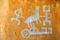 petroglyph Fotografering för Bildbyråer
