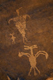 petroglyph Arkivfoton
