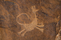 Petroglyph Stock Photography