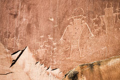 Petroglyph Stock Image