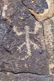 Petroglyph Site, Near Gila Bend, Arizona Stock Images