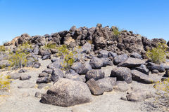 Petroglyph Site near Gila Bend, Arizona Royalty Free Stock Image