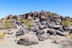 Petroglyph Site near Gila Bend, Arizona Royalty Free Stock Image