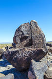 Petroglyph Site near Gila Bend, Arizona Royalty Free Stock Photography