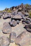 Petroglyph Site, Near Gila Bend, Stock Image