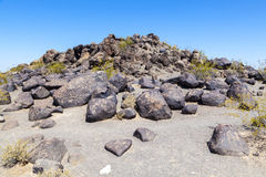 Petroglyph Site, Near Gila Bend Royalty Free Stock Images