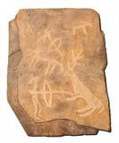 petroglyphe времени бронзовое Стоковые Изображения RF