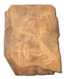 Petroglyphe. Bronze age Royalty Free Stock Images