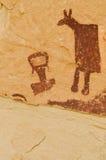 Petroglyphen Lizenzfreies Stockfoto