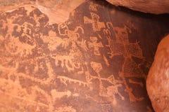 Petroglyphen Stockbilder