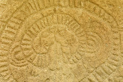 Petroglyphen auf einer Ometepe-Insel, Nicaragua Lizenzfreies Stockfoto