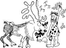 Petroglyphic Images libres de droits