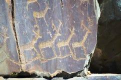Petroglyphic fotografie stock libere da diritti