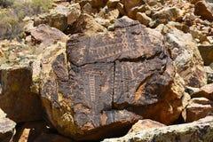 Petroglyphs της Gap Parowan Στοκ φωτογραφίες με δικαίωμα ελεύθερης χρήσης