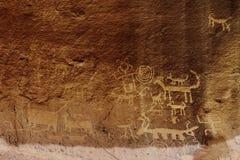 Petroglyphs της Una Vida Στοκ Εικόνες