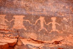 petroglyphs Στοκ Εικόνες