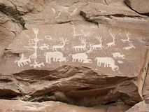 Petroglyphs Stock Images