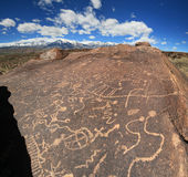 Petroglyphs Royalty Free Stock Photography