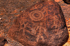 Petroglyphs Stock Photography