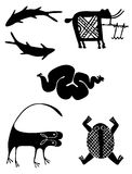 Petroglyphs Royalty Free Stock Photos